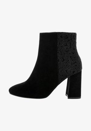 NEVIAN - Kotníková obuv na vysokém podpatku - black