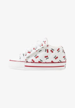 CHUCK TAYLOR ALL STAR CRIBSTER - Baby shoes - white/garnet