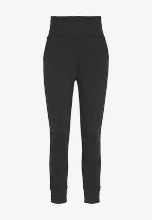 FLOW HYPER 7/8 PANT - Pantaloni sportivi - black/dark smoke grey