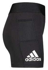 adidas Performance - ALPHASKIN - Pantalón corto de deporte - black - 3