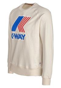 K-Way - EMANUEL - Sweatshirt - white gardenia - 1