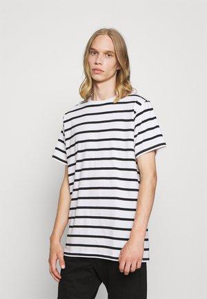 CLASSIC TEE - T-shirt imprimé - 187 white/black