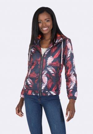 Light jacket - navy-bordeaux