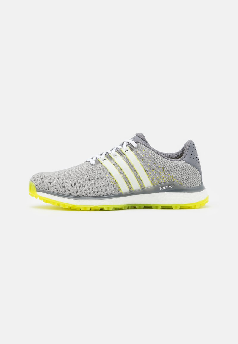 adidas Golf - TOUR360 XT-SL - Golfové boty - grey three/footwear white/yellow