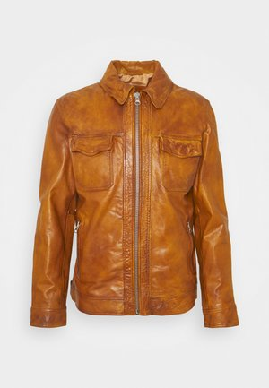 ARY  - Leather jacket - brown