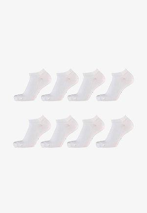 8 Pack - Socks - white