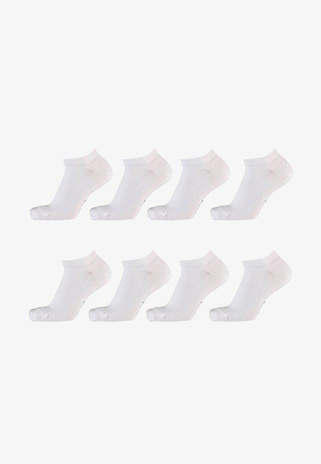 8 Pack - Sokken - white