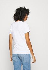 ONLY - ONLBONITA LIFE - Print T-shirt - bright white - 2