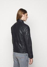 JOOP! Jeans - LIMA - Kožená bunda - dark navy - 2