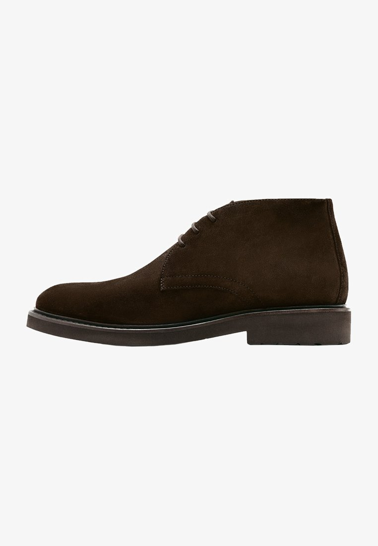 Massimo Dutti - Lace-up ankle boots - brown