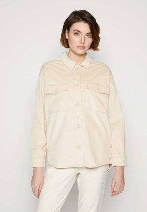 SHIRT JACKET - Summer jacket - blazed beige