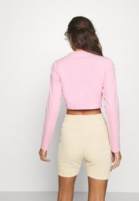 adidas Originals - CROP - Long sleeved top - lightpink - 2