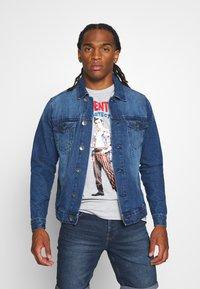 Redefined Rebel - MARC JACKET - Denim jacket - mid blue - 0