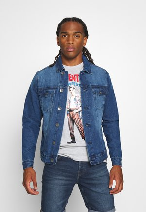 MARC JACKET - Denim jacket - mid blue