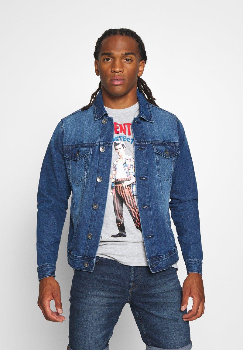Redefined Rebel - MARC JACKET - Denim jacket - mid blue