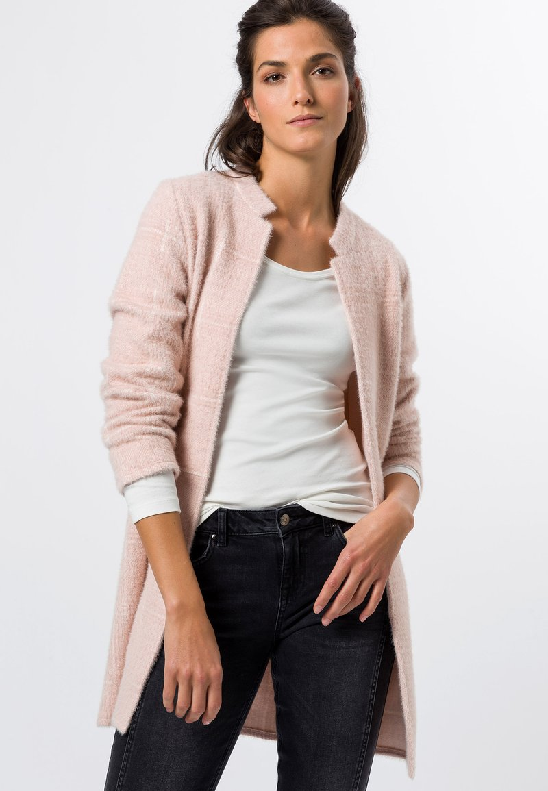 zero - Short coat - misty rose