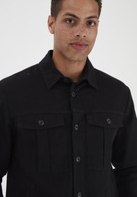 Solid - SDLOKE OVERSHIRT - Summer jacket - black