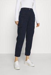 Marks & Spencer London - ULTIMATE - Cargo trousers - dark blue - 0