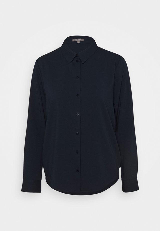 BLOUSE - Button-down blouse - night sky blue
