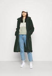 Another-Label - MOUSSY COAT - Zimní kabát - sycamore green - 1