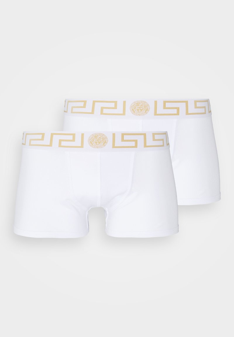 Versace - PARIGAMBA BASSO INTIMO UOMO 2 PACK - Boxerky - white