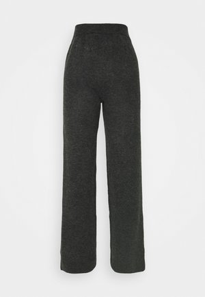 YASSELLIS PANT ICON - Pantalon classique - dark grey melange