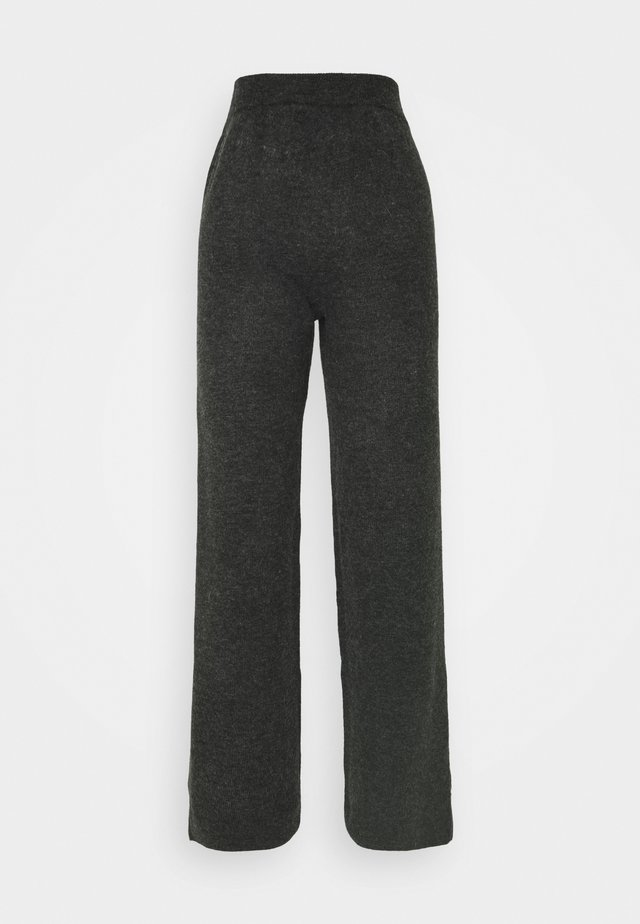 YASSELLIS PANT ICON - Broek - dark grey melange