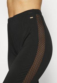 LASCANA - PANTS - Pyjama bottoms - black - 4
