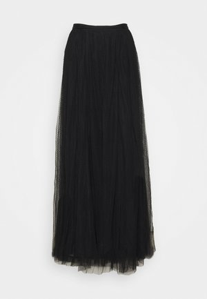 LONG SKIRT - Maxi sukně - black