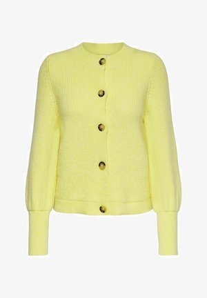 Cardigan - pastel yellow