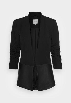 JAMA COATED - Blazer - black