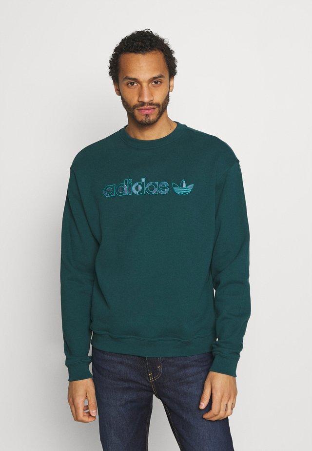 CREW UNISEX - Sweatshirt - wild teal