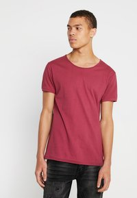 Tigha - WREN - T-shirts basic - red steam - 0