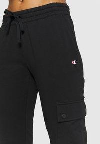 Champion - ELASTIC CUFF PANTS - Pantaloni sportivi - black - 3