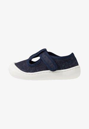 ARENA - Ankle strap ballet pumps - jeans
