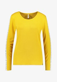 Key Largo - WLS CLAUDIA ROUND - Long sleeved top - yellow - 0