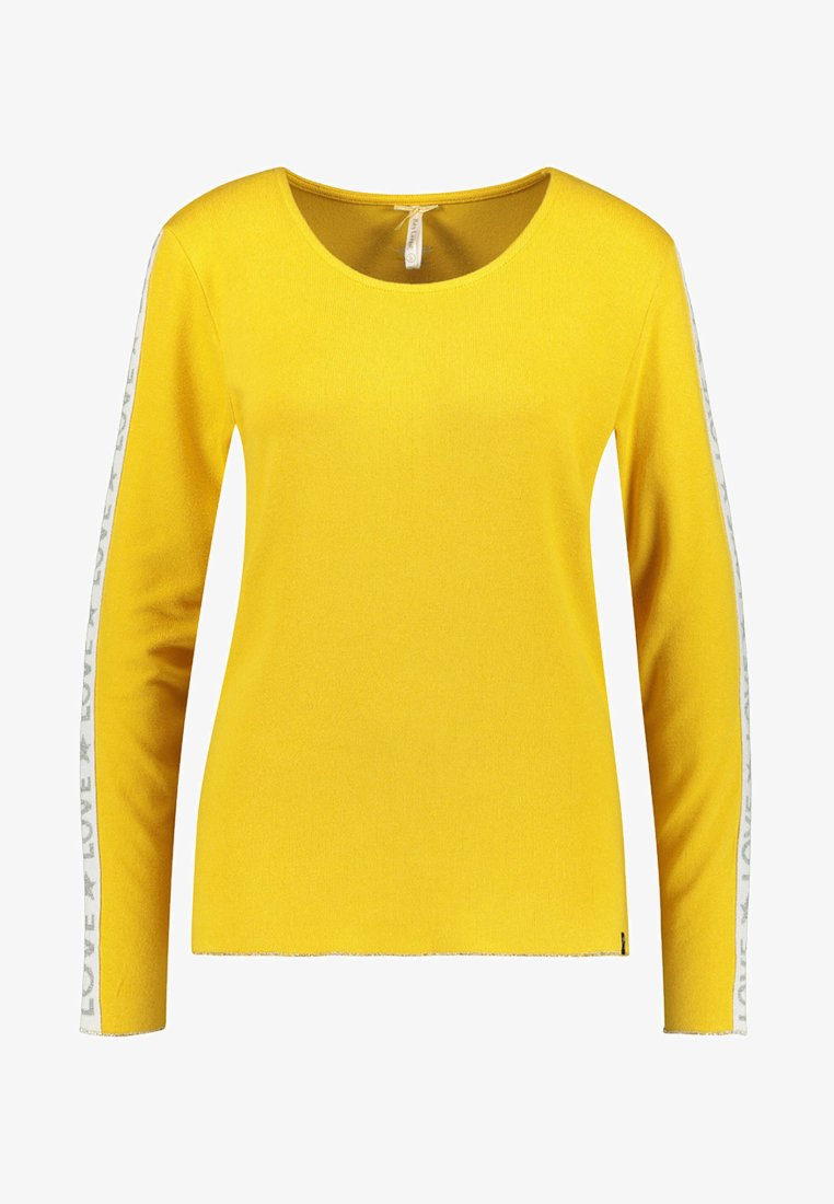 Key Largo - WLS CLAUDIA ROUND - Long sleeved top - yellow