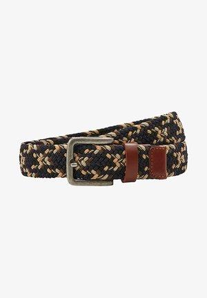 Braided belt - navy