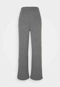 ONLY - ONLMELIKA PANTS  - Bukser - medium grey melange - 0