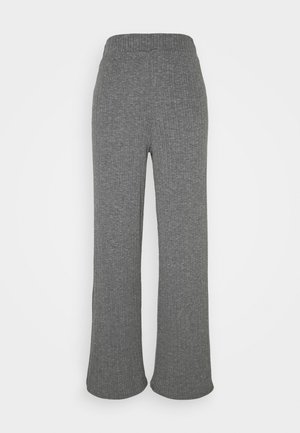 ONLMELIKA PANTS  - Broek - medium grey melange
