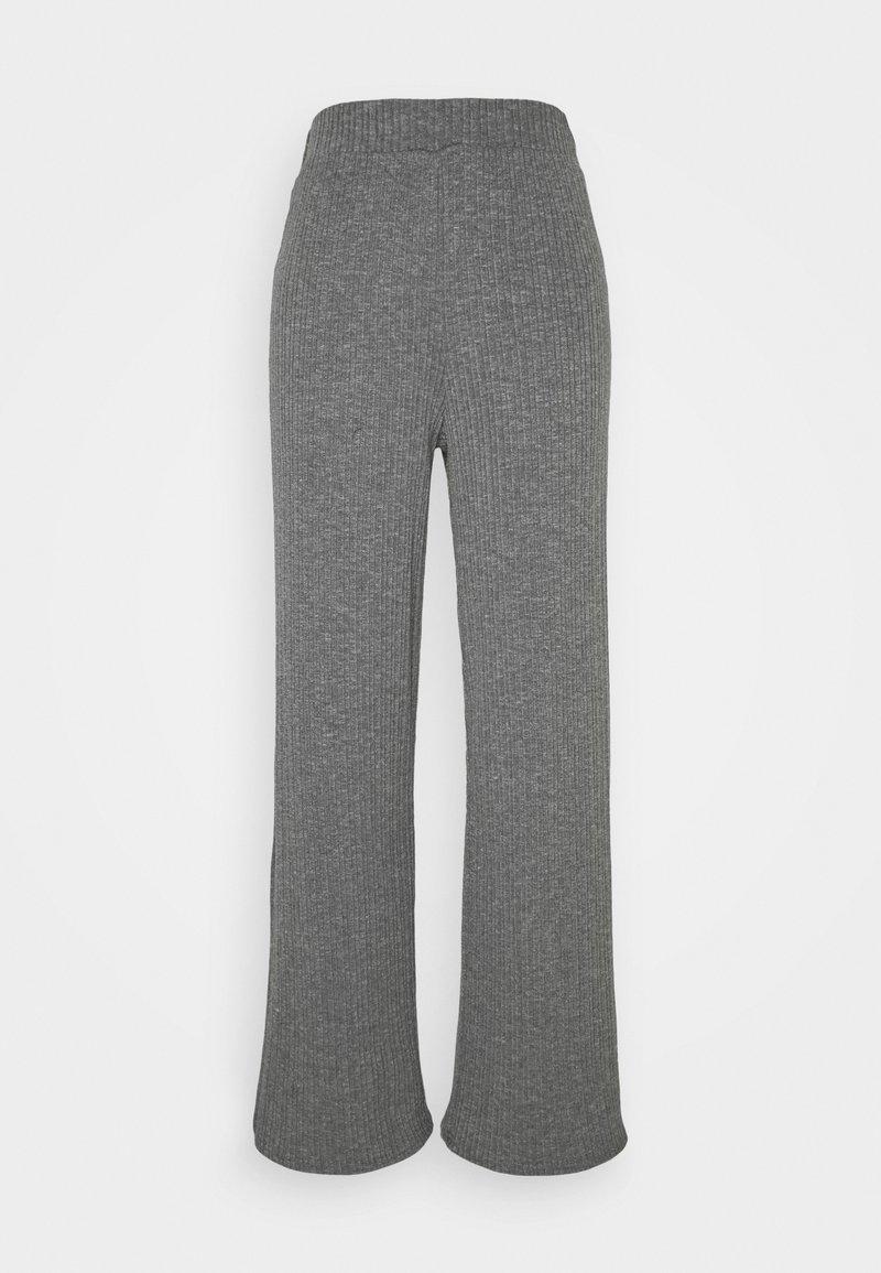 ONLY - ONLMELIKA PANTS  - Bukser - medium grey melange