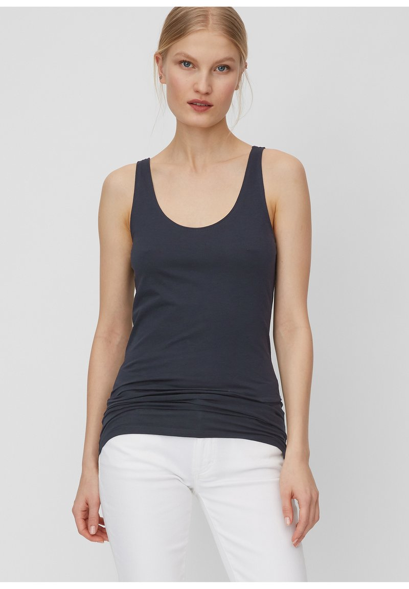 Marc O'Polo - MARC O'POLO TOP AUS ELASTISCHER ORGANIC COTTON-QUALITÄT - Top - night sky