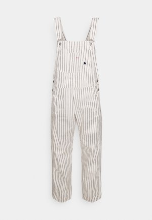 W' TRADE OVERALL - Salopette - wax/black