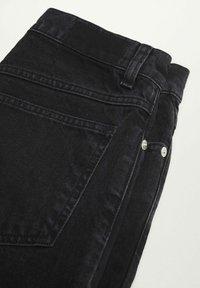 Mango - Jeans Tapered Fit - black denim - 8
