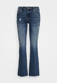 Liu Jo Jeans - BEAT REG - Vaqueros bootcut - blue avatar wash - 5