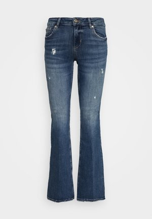 BEAT REG - Bootcut jeans - blue avatar wash