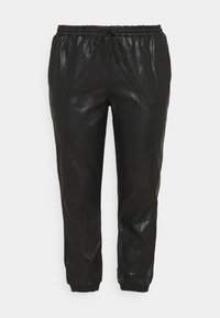 Glamorous Curve - ELASTICATED CUFF - Trousers - black - 3