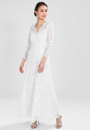 FLARED DRESS - Abito da sera - snow white