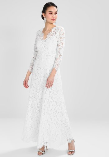 FLARED DRESS - Occasion wear - snow white