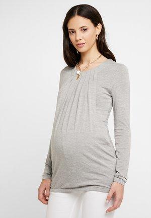 STILL ARM - Long sleeved top - patos melange gray